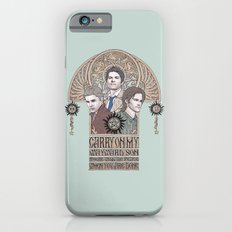 Carry On My Wayward Son (Castiel, Sam and Dean Winchester) iPhone 6 Slim Case