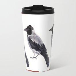 Hooded Crow Travel Mug