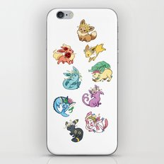 Eeveelutions iPhone & iPod Skin