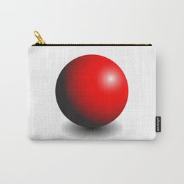 Red Gradient Sphere Carry-All Pouch