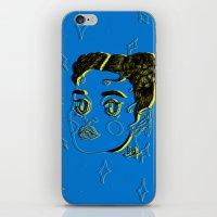 fka twigs iPhone & iPod Skins featuring FKA TWIGS by DINA LOPEZ