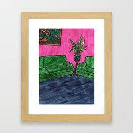 Home Scene Framed Art Print