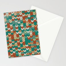 Knitted colors Stationery Cards