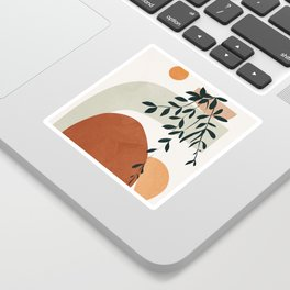 Soft Shapes I Sticker