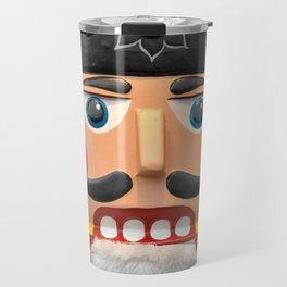 Nutcracker Christmas Design - Illustration Travel Mug