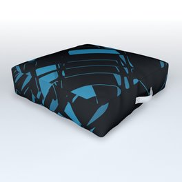 3D Futuristic BG X.1 Outdoor Floor Cushion