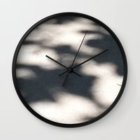 shadow Wall Clocks featuring Shadow  by Robert Morris