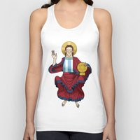 messi Tank Tops featuring Messi by Lawerta