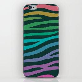 wildlife dreamcoat - zebra 2 iPhone Skin