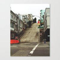 broadway Canvas Prints featuring Broadway by Laney Vela