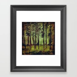 Forest 2 Framed Art Print