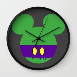 The Incredible Mouse Wall Clock