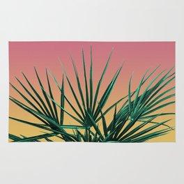 Vaporwave Palm Life - Miami Sunset Rug
