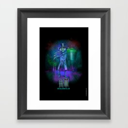 Hat Box Ghost by Topher Adam Framed Art Print