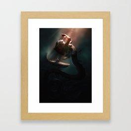 Surface Light Framed Art Print