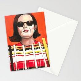 Peggy Olson Poster, Mad Men TV Print, Drawings Feminist Icon Portrait, Minimalist Wall Art Decor, Nursery Art Stationery Cards