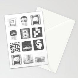 Vignettes - Yume Nikki Stationery Cards