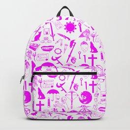 Buffy Symbology, Pink Backpack