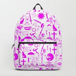 Buffy Symbology, Pink Backpack