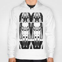satan Hoodies featuring HA SATAN HA SATAN by Kathead Tarot/David Rivera