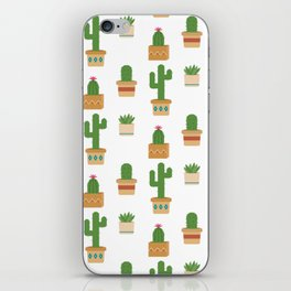 Southwestern Cactus Pattern iPhone Skin
