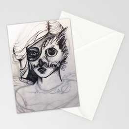Night Mask (masque de nuit) Stationery Cards