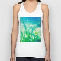 under the sea Tank Tops featuring under the sea by Bonnie Jakobsen-Martin