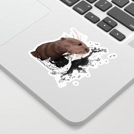 Cujo giant river otter Sticker