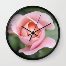 Unfolding perfection Wall Clock