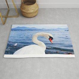 Swan & Alps Rug