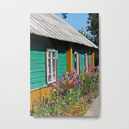 House in Trakai Metal Print