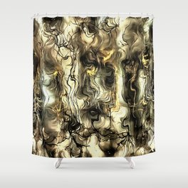Nervous Tension Shower Curtain