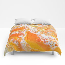 Summer Abstract #1 Comforters