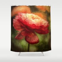 van gogh Shower Curtains featuring Feeling Van Gogh by ThePhotoGuyDarren