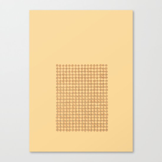 Concents Canvas Print