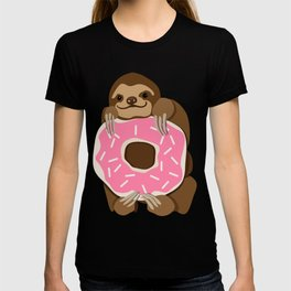 Because Sloths AND Donuts T-shirt