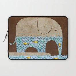 Thirsty Elephant - colour option Laptop Sleeve