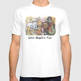 Last Night's fun T-shirt