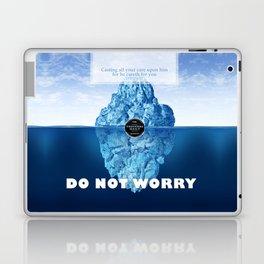 1 Peter 5:7 Worry Laptop & iPad Skin