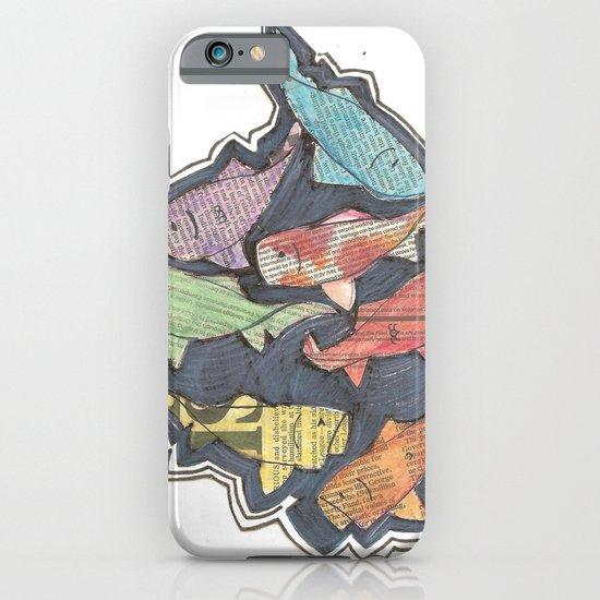 Newspaper Fish iPhone & iPod Case