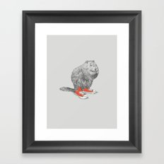 Woodchucks Framed Art Print
