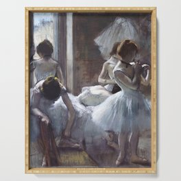 Dancers by Edgar Degas Serving Tray