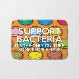 Support Bacteria Bath Mat
