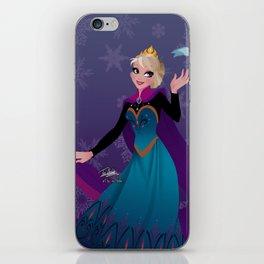 Frozen Elsa Coronation iPhone Skin