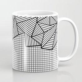 Grids and Stripes Coffee Mug