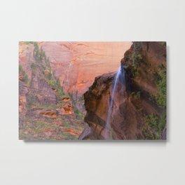 Zion National Park #3, Fine Art Landscape Photography Metal Print