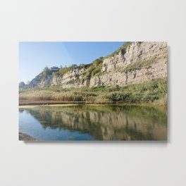 Torrefumo lake in the bay of Naples Metal Print