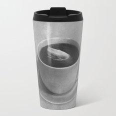 Whale in a tea cup  Travel Mug