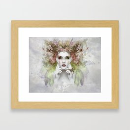 Woman in the Jungle Framed Art Print