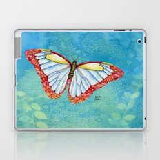 Stained Glass Butterfly Laptop & iPad Skin